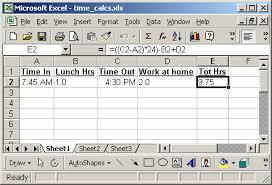 Wie man die Zeit in Excel berechnet